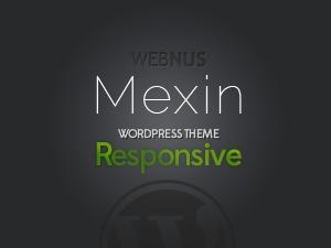 Mexin WordPress template