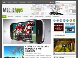 MobileApps best WordPress theme