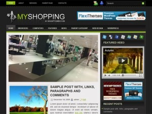 MyShopping WordPress store theme