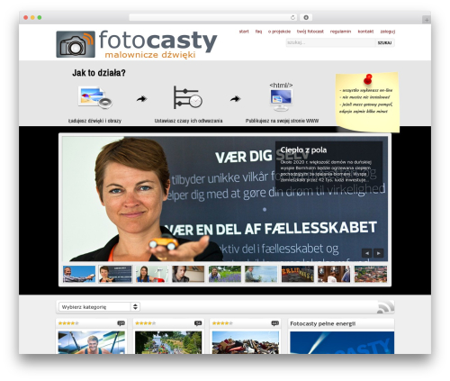 On Demand best WordPress template - fotocasty.pl