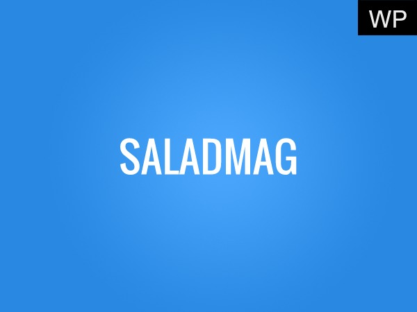 Saladmag (shared on wplocker.com) best WordPress magazine theme