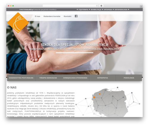 Spondylus Theme WordPress template - functionalmed.pl