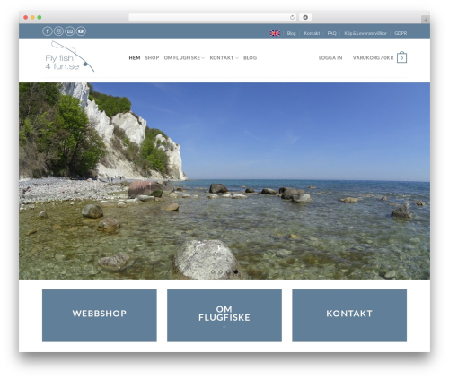 Theme WordPress Flatsome - flyfish4fun.se