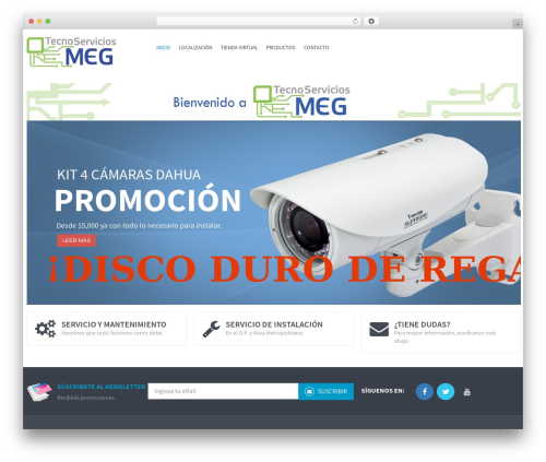 WordPress template WPO Shopping - tecnoserviciosmeg.com