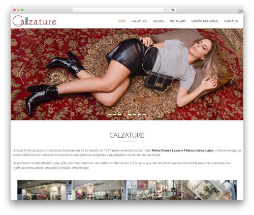 WordPress theme AccessPress Parallax - usecalzature.com.br