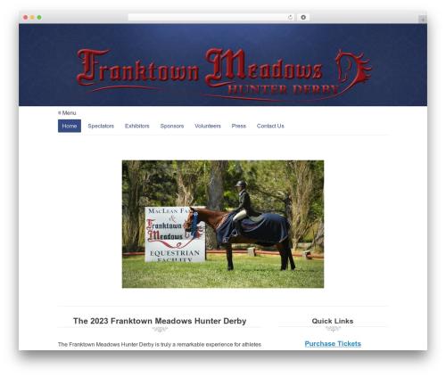 WordPress tablepress-responsive-tables plugin - fmhunterderby.com