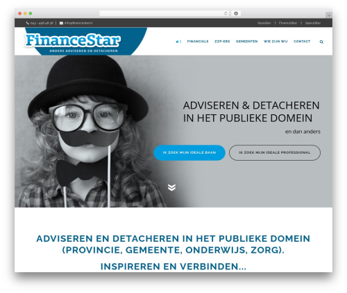 WordPress theme Aperio - financestar.nl