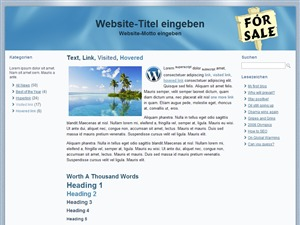 WordPress theme fosadeutsch