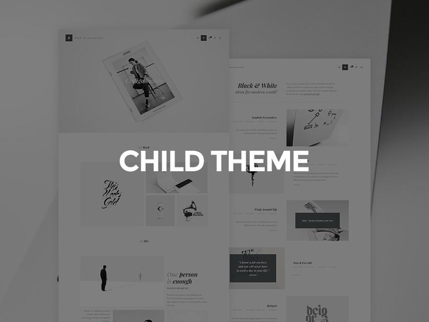 WordPress theme Inverto Child