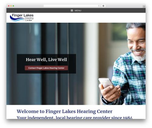 WordPress theme Merriweather - fingerlakeshearing.com