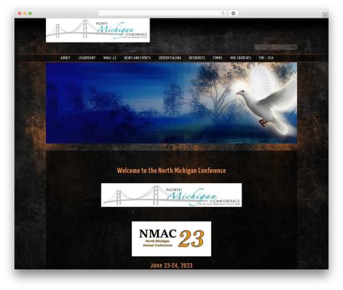 WordPress theme Sharefaith Church Website Template - fmcnorthmich.org