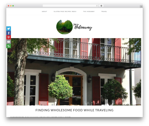 WordPress website template Cookd Pro Theme - fromourhideaway.com