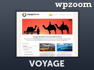 WP template Voyage Theme