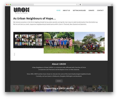 WP theme NOO Dreamer - unoh.org