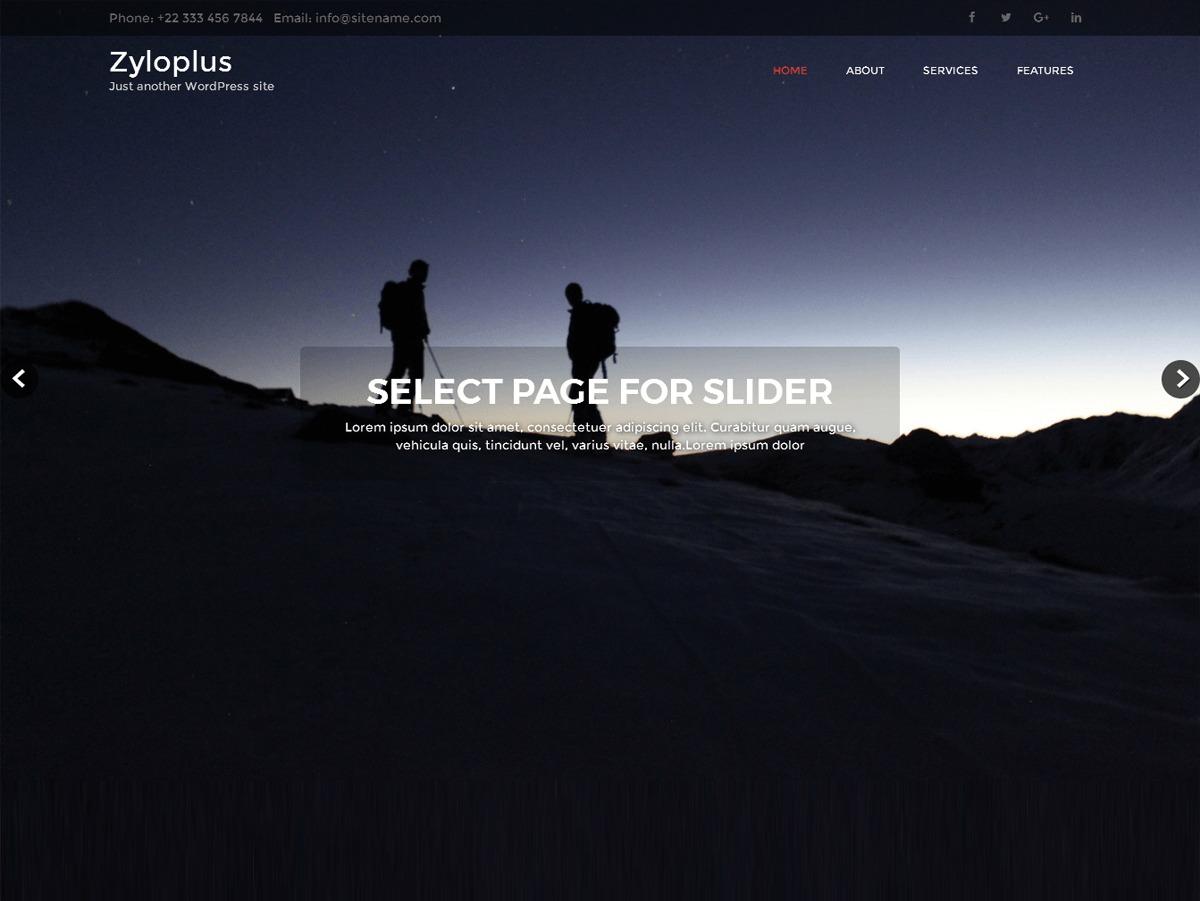 Zyloplus WordPress template free download