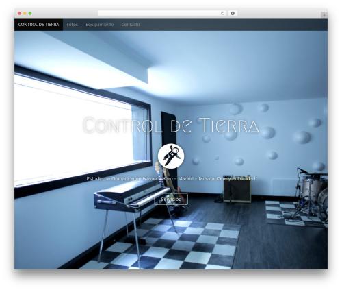 Arcade Basic WordPress template - controldetierra.com