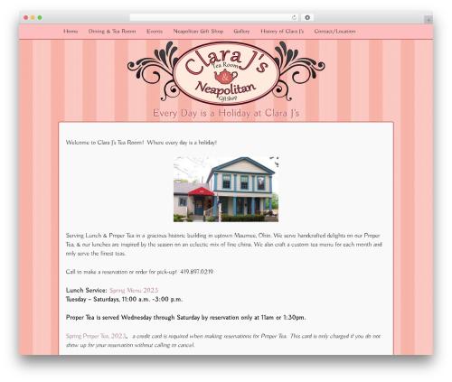 Responsive template WordPress free - clarajsat219.com