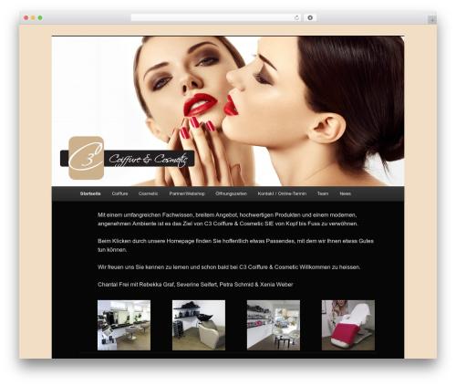 Twenty Eleven theme WordPress - c3c3.ch