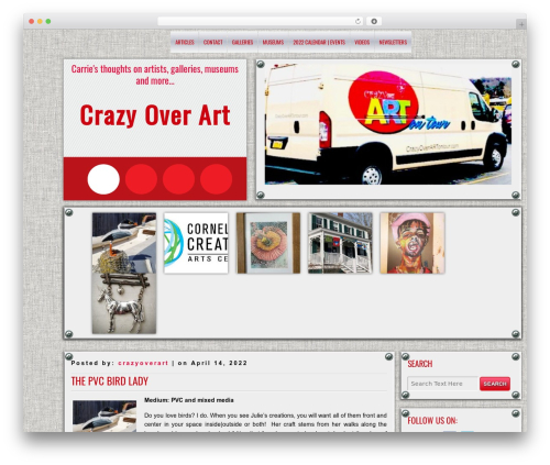 Best WordPress theme DISCUSSION - crazyoverart.com