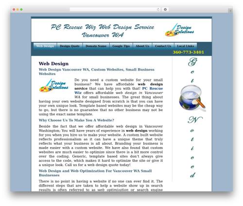BLANK Theme theme WordPress - computerrepairvancouverwa.org