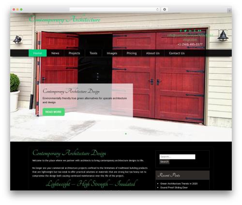 Free WordPress Footer Putter plugin - contemporaryarchitecturedesign.com