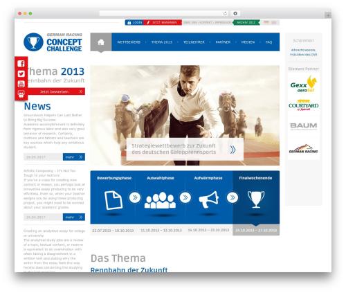 Free WordPress WP Slick Slider plugin - concept-challenge.de