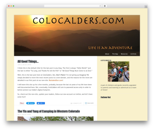 Meeta best WordPress theme - colocalders.com