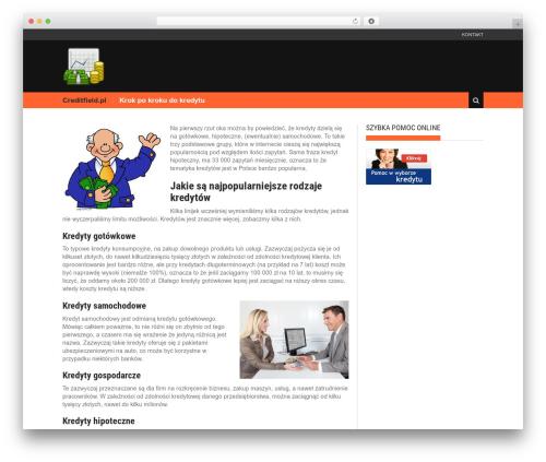 New Lotus theme WordPress - creditfield.pl