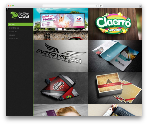 Sokar WordPress theme design - creativeoss.com