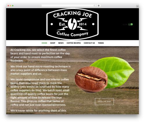 Suave WordPress theme - crackingjoe.uk
