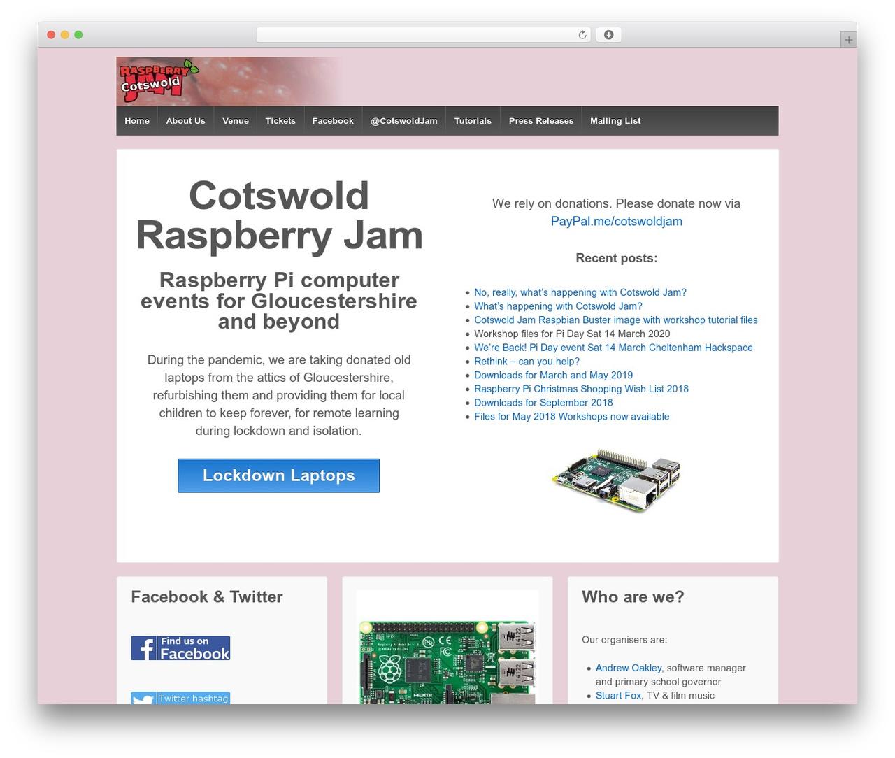 Theme WordPress Responsive - cotswoldjam.org
