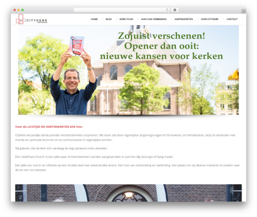 Attractor Theme WordPress theme - citykerk.amsterdam