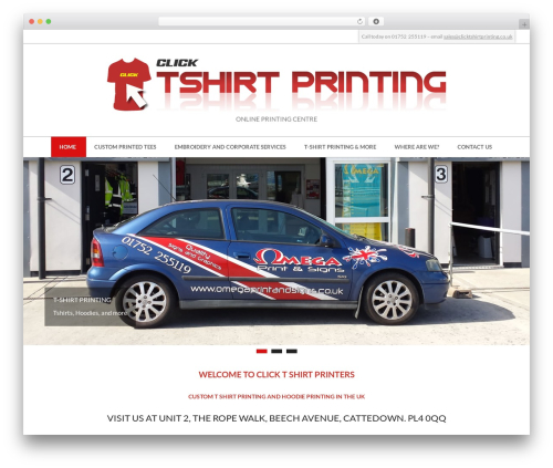 Hoot Ubix WordPress theme free download - clicktshirtprinting.co.uk