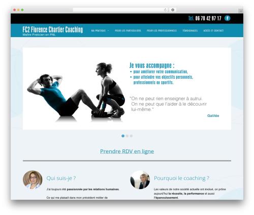 Magazine WordPress news template - coachpnl77.fr