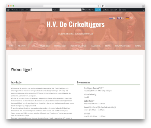 Free WordPress Easy Sidebar Menu Widget plugin - cirkeltijgers.nl