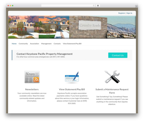 Spacious Pro WordPress theme - countryroadsmu.com