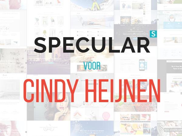 Specular Child Cindy Heijnen WordPress theme