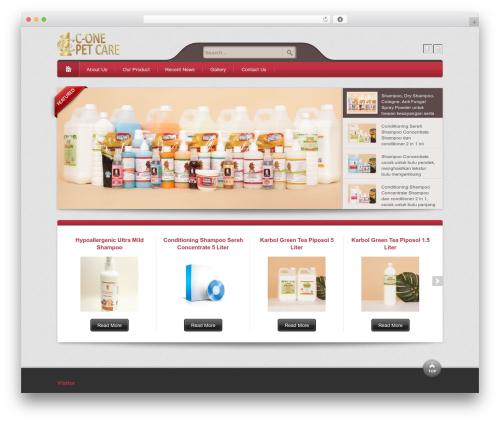 Theme WordPress Bellissima - c1petcare.com