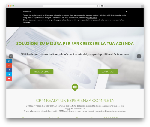 Theme WordPress Betheme - crmready.it