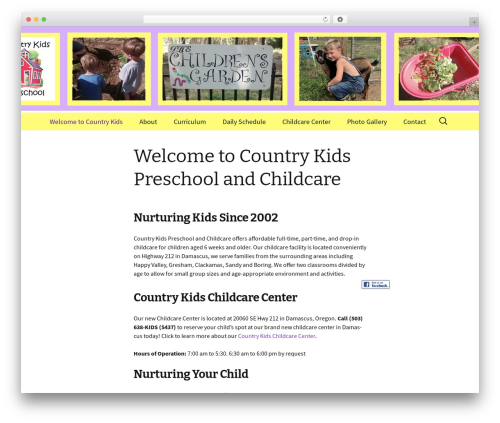 Twenty Thirteen theme WordPress - countrykidsdamascus.com