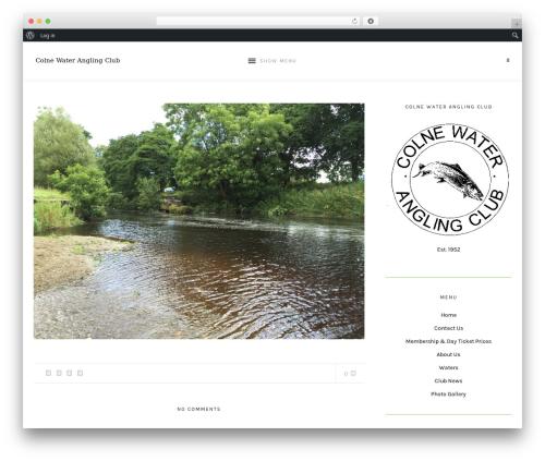 WordPress template Laurel - colnewaterac.org
