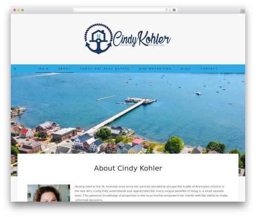 Berry real estate template WordPress - cindykohler.com