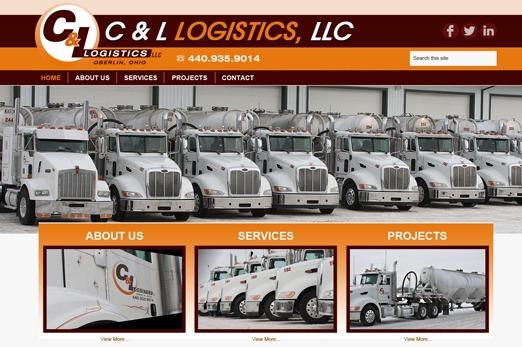 Best WordPress template C & L Logistics, LLC
