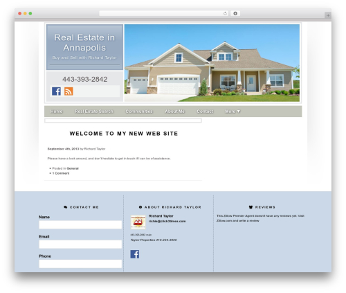Concise WordPress real estate - click3times.net
