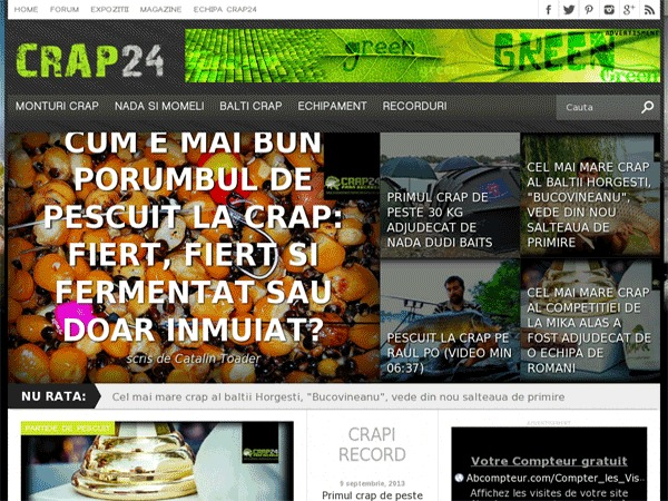 Crap24 WordPress theme