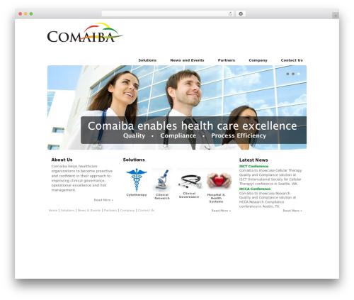 Creation WordPress theme - comaiba.com
