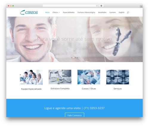 Divi newspaper WordPress theme - cireos.com