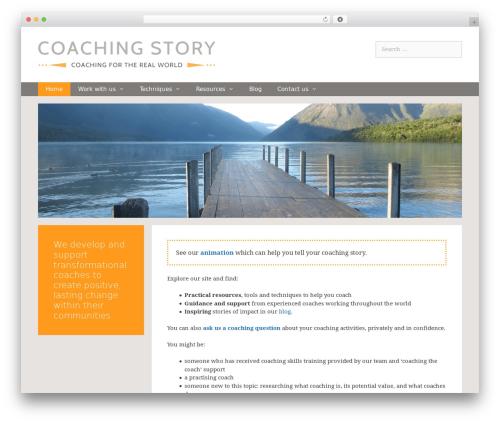 GeneratePress Child WP theme - coachingstory.org