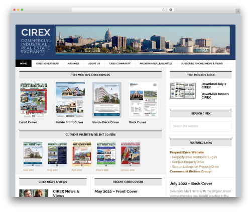Genesis best real estate website - cirex.com
