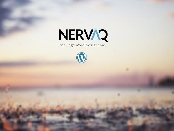 Nervaq (Share On Theme123.Net) WordPress portfolio theme